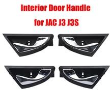 Для салона автомобиля дверные ручки Внутри Внутренний ручку двери для JAC J3 J3S J3 Турин 2009-2015 6105230u8010