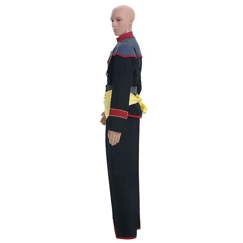 Star Trek Mirror Cosplay Costumes Starfleet working Uniform for Men Adult Halloween Outwear