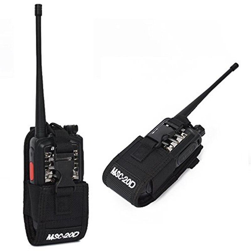 MSC-20D Nylon Funktion Universal Tasche Holster Tragetasche für BaoFeng UV-5R Serie BF-888S TYT Mototrola Walkie Talkie