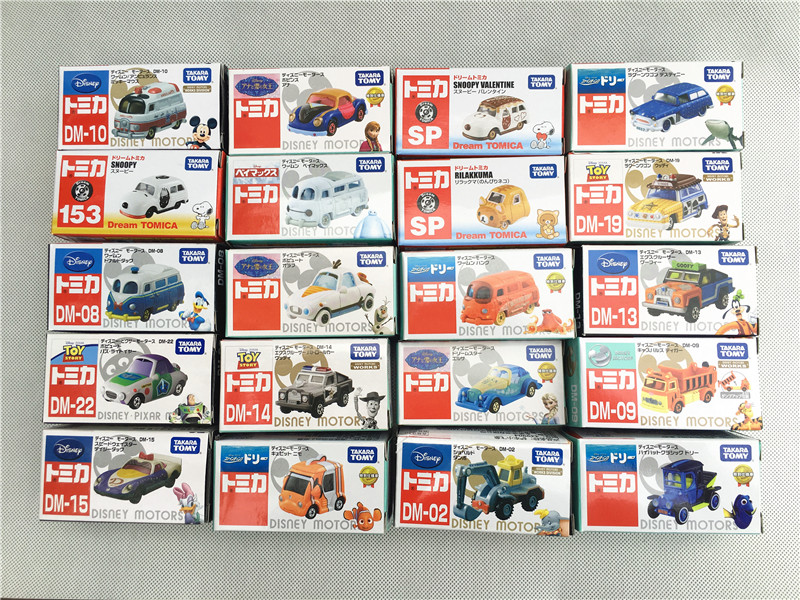 Takara Tomy Tomica Disney Dreamstar Mickey/Finding/Frozen/Toy Story Various Characters Metal Diecast Vehicles Cars New