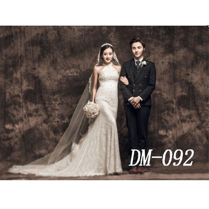 10x20ft Pro De Mousseline Teints personnalisés décors photographie de mariage, 100% coton Fabriqué À La Main Vieux maître arrière-plans pour photo studio M092