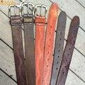 Hombres masculina cinturón de cuero Trenzado correa para hombre a rayas para hombre casual cinturones faja de lujo 2016 de Alta calidad para los pantalones vaqueros de los hombres PB276