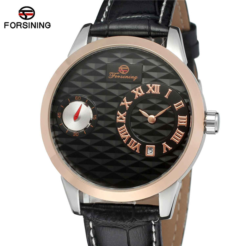 FORSINING Mens Watches Military Army Sport Clock Male Top Brand Luxury Date Rome Clocks Automatic Mechanical Men Watch Gift 0004 jedir fashion chronograph men watch top brand luxury mens watches military army male date clock real sport leather clocks 2028