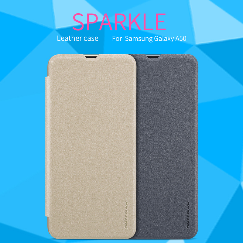 filp cover case For Samsung A50 A30 NILLKIN Sparkle super thin flip cover PU leather case Samsung A50 A30filp cover case For Samsung A50 A30 NILLKIN Sparkle super thin flip cover PU leather case Samsung A50 A30