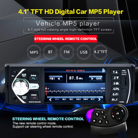 4 1 Inch 50W X 4CH 1 DIN HD TFT Color LCD Screen Car In Dash
