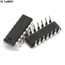1pcs/lot 74HC27 74HC27AP DIP14 logic gate circuit original authentic tca965b dip14 high quality