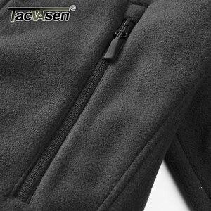 Image 3 - Tacvasen男性冬ジャケット軍事戦術ジャケットコート男性熱特殊戦闘軍ジャケット秋ハイキングハントジャケット