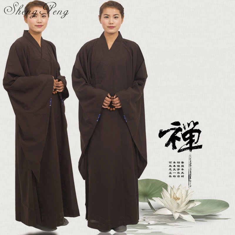Shaolin Meditation Robe Monk Buddhist Clothing rCdoBxe