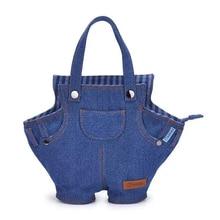 2018 Well-known Designer Brand New Denim Personality Simple Ladies Handbag Trend