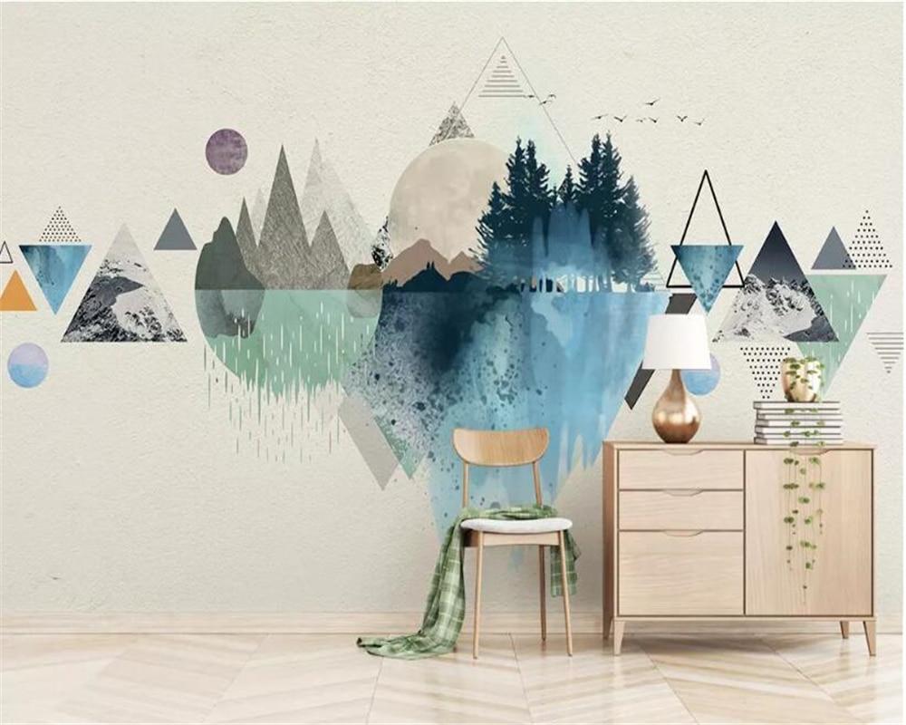 Beibehang Papel De Parede 3d Kitchen Wallpaper Customized Modern