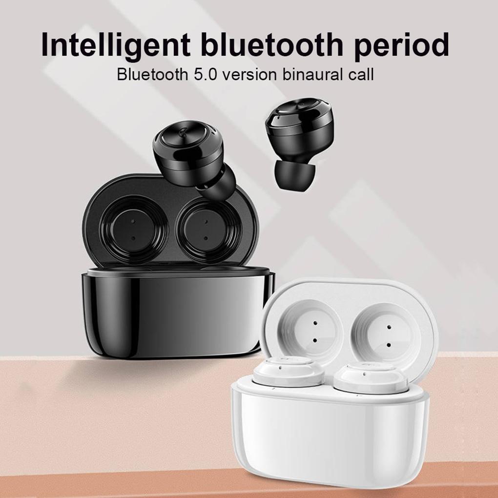 Bluetooth 5.0 Earphones Wireless Headphones Handsfree Headphone Sports Earbuds with Charging Box