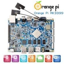 Orange Pi RK3399 4 GB DDR3 16 GB EMMC Dual Core Cortex A72 Entwicklung Bord Unterstützung Android 6.0