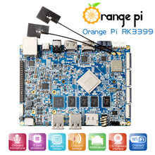 Orange Pi RK3399 4GB DDR3 16GB EMMC Dual Core Cortex-A72 Development Board Support Android 6.0(China)