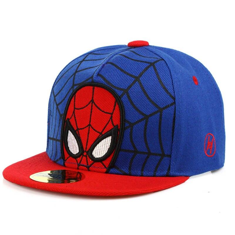 LDSLYJR 2018 cotton Spider hero print   Baseball     Cap   hip-hop   cap   Adjustable Snapback Hats for children boys and girls 350