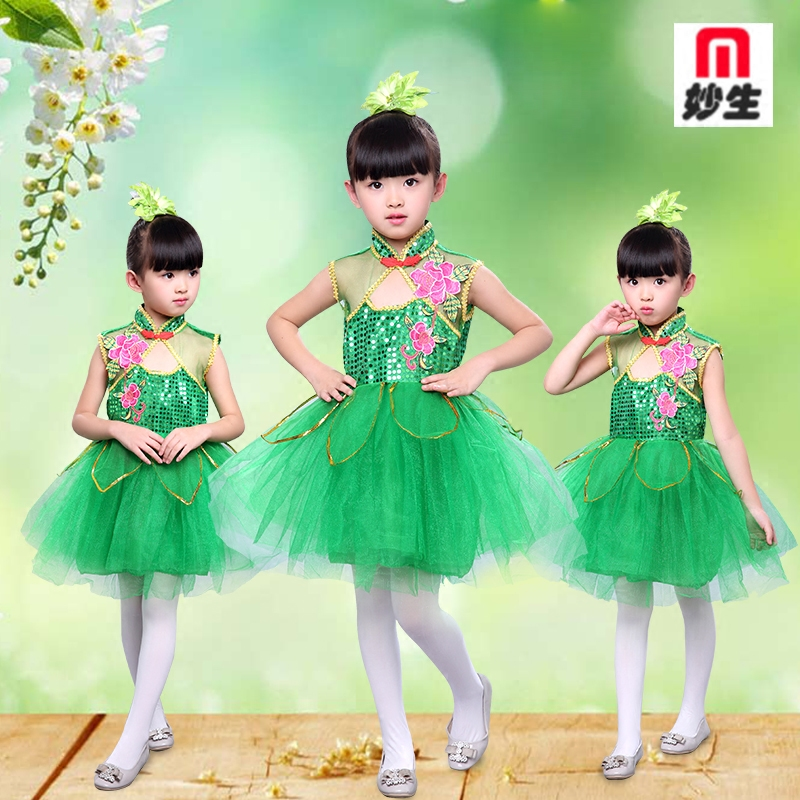 children-jasmine-dance-dress-green-lotus-dance-stage-groups-performing-costumes-festival-performance-font-b-ballet-b-font-dress