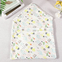 Fawn pattern cotton baby hug newborn bag baby swaddle blanket muslin cotton organic blanket 2019 soft