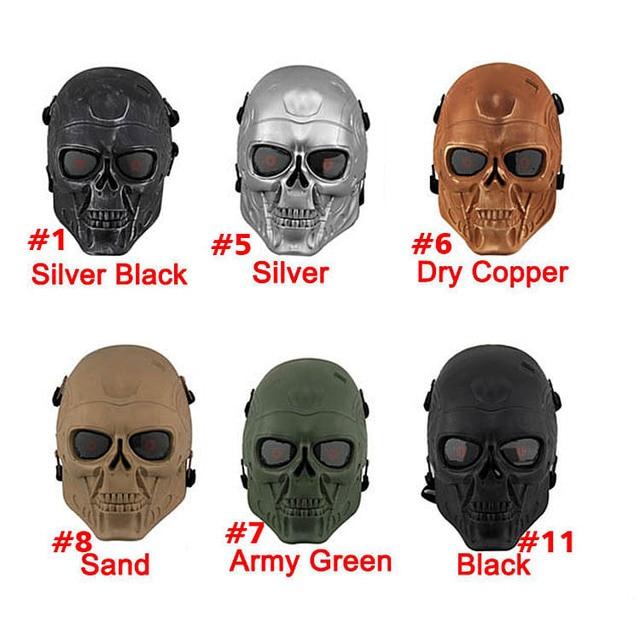 Oreille De Protection Terminator Full Face Masque Airsoft Paintball