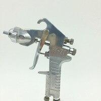 SAT1289 المهنية ارتفاع ضغط الهواء المقاوم للصدأ غطاء السيارات الطلاء hvlp بندقية رش بندقية 1.5 الأدوات الهوائية