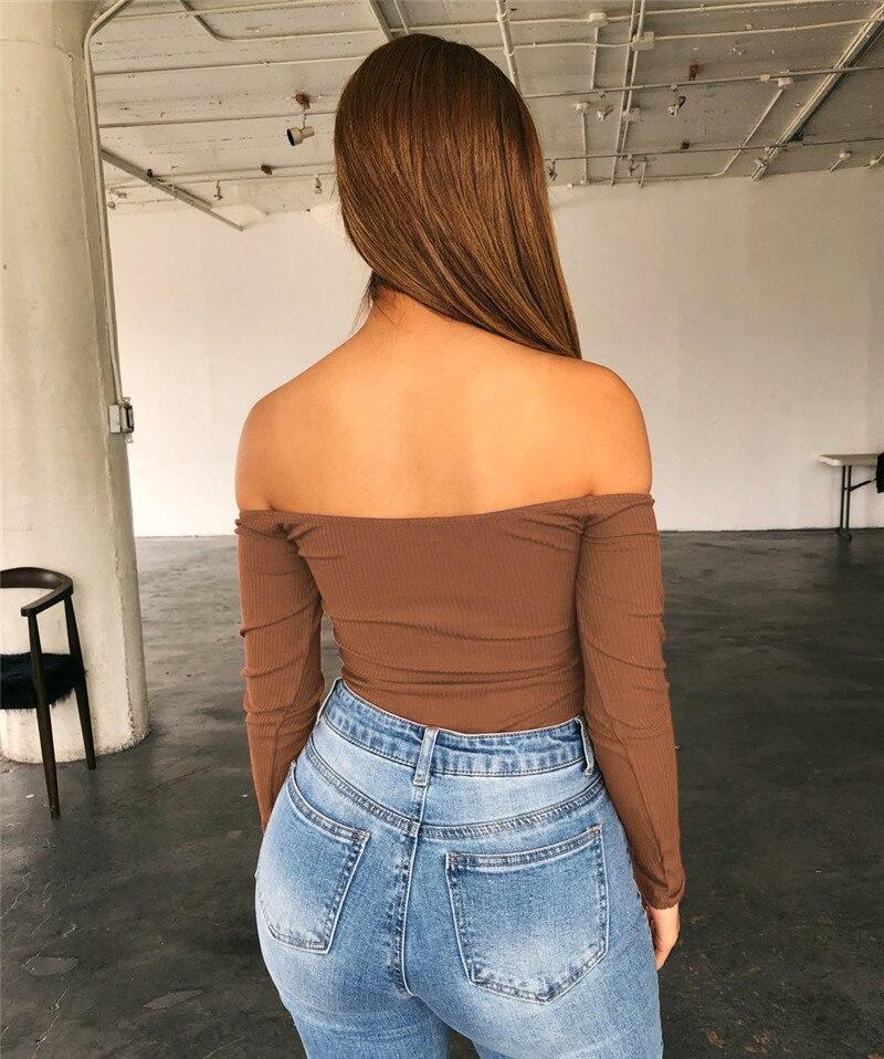 off shoulder bodysuit women20