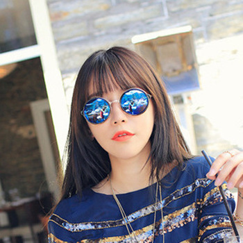 Metal Round Sunglasses Women Luxury Decoration Brand Designer Vintage Sun Glasses Female Fashion Women  Classic Eyewear UV400