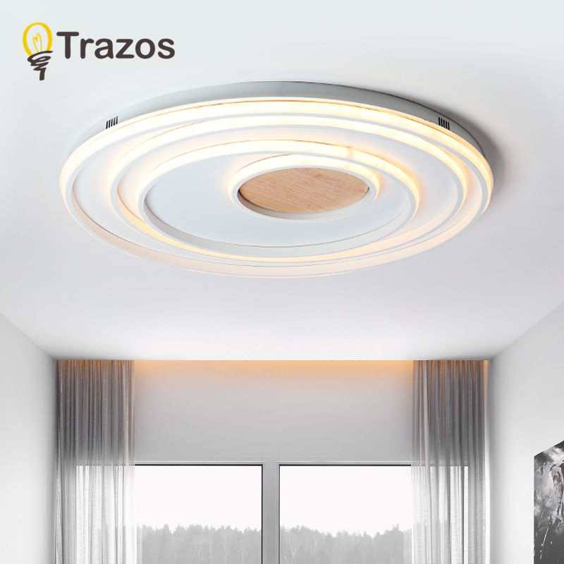 TRAZOS Modern White led Ceiling Lights For Corridor Adjustable Metal Lamparas de techo Corridor LED Strip Indoor Wood Lighting modern led acrylic ceiling lights for parlor lampada led hotel hall led strip acrylic led strip indoor lighting luz de techo