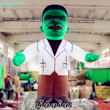 free shipping 5m halloween decorative inflatable frankenstein inflatable green monster