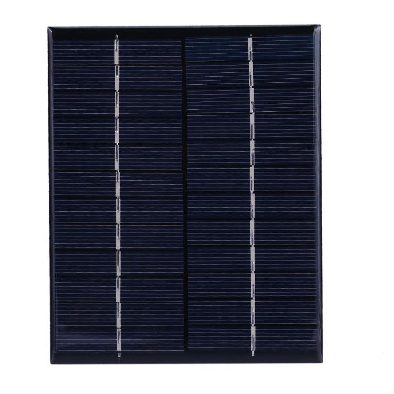 Universal 2W 12V Mini Solar Panel Polycrystalline Silicon DIY Battery Power Charge Module System Solar Cells Charger