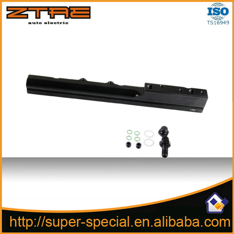 Racing-High Quality High Volume aluminum Fuel Rail For <font><b>Honda</b></font> <font><b>Civic</b></font> Si <font><b>B16A</b></font> B16A1 B16A2 B16A3 image
