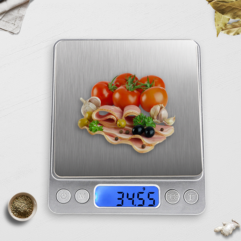 Household Kitchen Scale 500g/0.01g Mini Digital Jewelry Scale Electronic Weight Scales Balance Weighting Tool