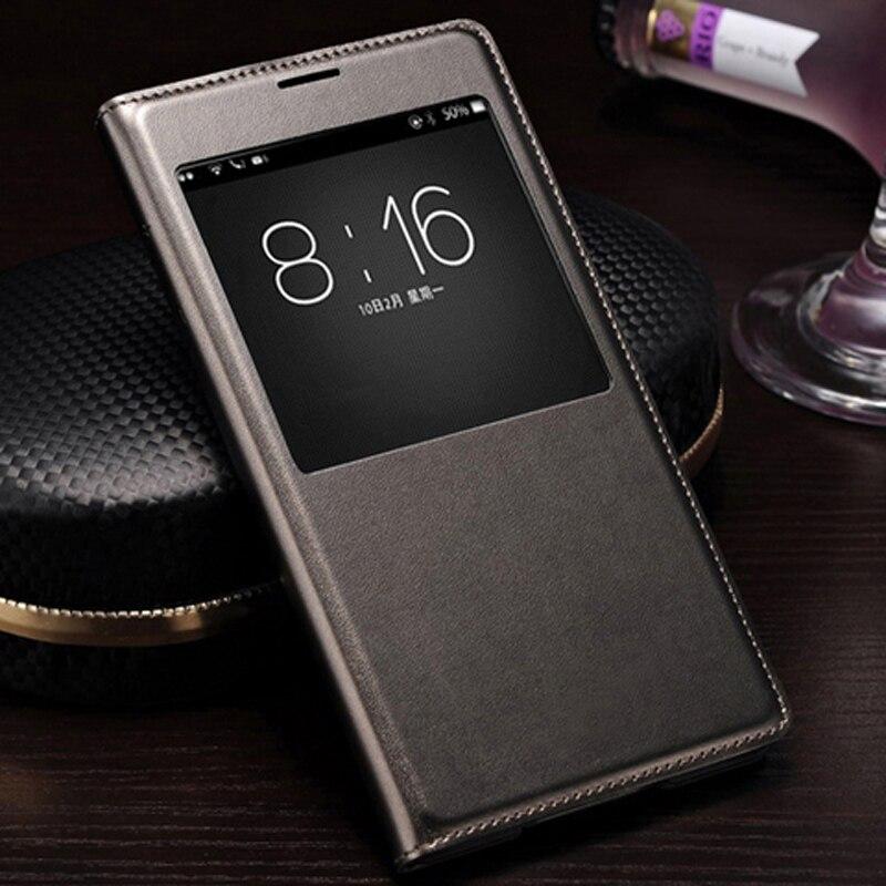 QTNED Inteligentní zobrazení Auto Sleep Wake Up Kožené pouzdro na - Příslušenství a náhradní díly pro mobilní telefony