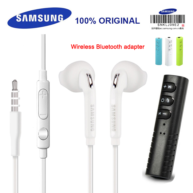 SAMSUNG Original Earphone EO-EG920BW Wired 3.5mm with Mic 1.2m In-ear Sport Earphones for xiaomi S8 S8Plus with Retail Box все цены