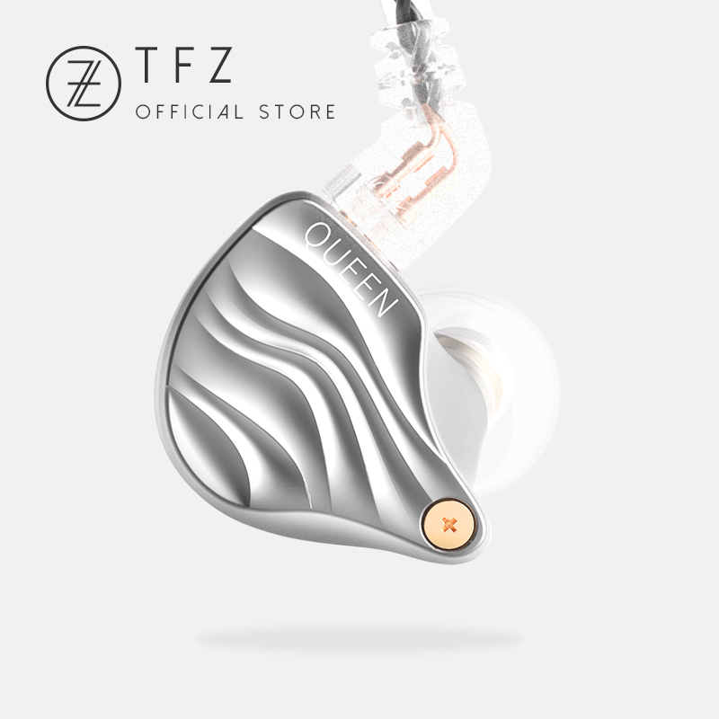 [9.9 Digital Fastival]2018 QUEEN Metal HIFI Earphones,Bass Sound Earphone In-ear monitor Neckband Earphones,TFZ Hifi Earbuds tfz queen hifi in ear monitor earphones earphone dynamic iem with 2 pin 0 78mm detachable cables dj stage earphones