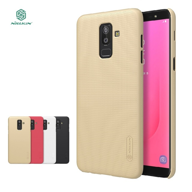 new arrival e0b2c 0b536 US $7.99 30% OFF|For Samsung Galaxy J8 case Nillkin hard case phone cases  for Samsung J8 case protective back cover +-in Half-wrapped Case from ...