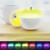 Apple forma originalidade soprando lâmpada sensor de brilho ajustável led night light coloridos alterando golpe de cabeceira lâmpada atmosfera