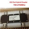 Impulsionador 200 W 3db resposta de freqüência 700-2700 MHz dispositivo de ponte combinador 2X2 Porto Hybrid Acoplador acoplamento acoplador rádio combinador de freqüência repeater