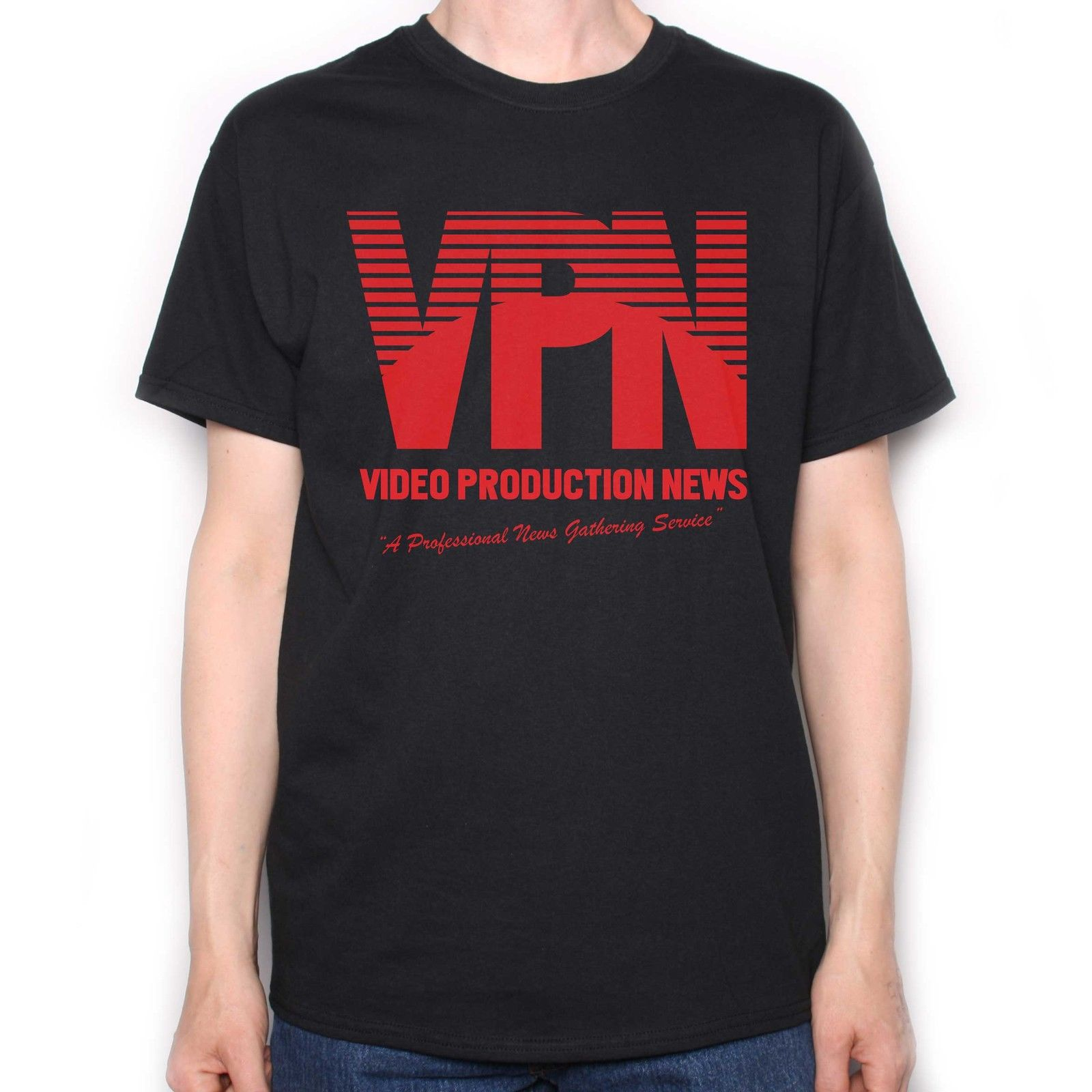 INSPIRED BY NIGHTCRAWLER T SHIRT - VIDEO PRODUCTION NEWS LOGO CULT FILM TASTIC Brand T-S ...