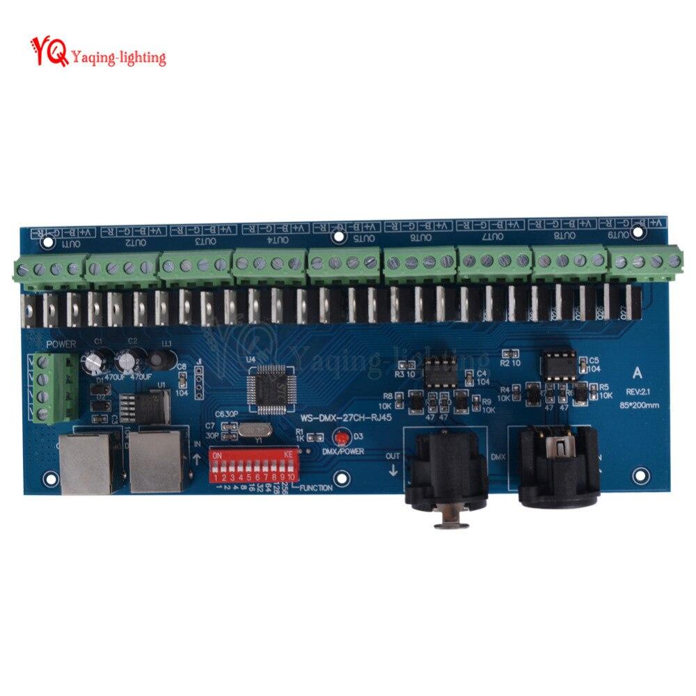 Schema Collegamento Xlr : 27ch facile decodificatore dmx512 27 canali dmx controller unità