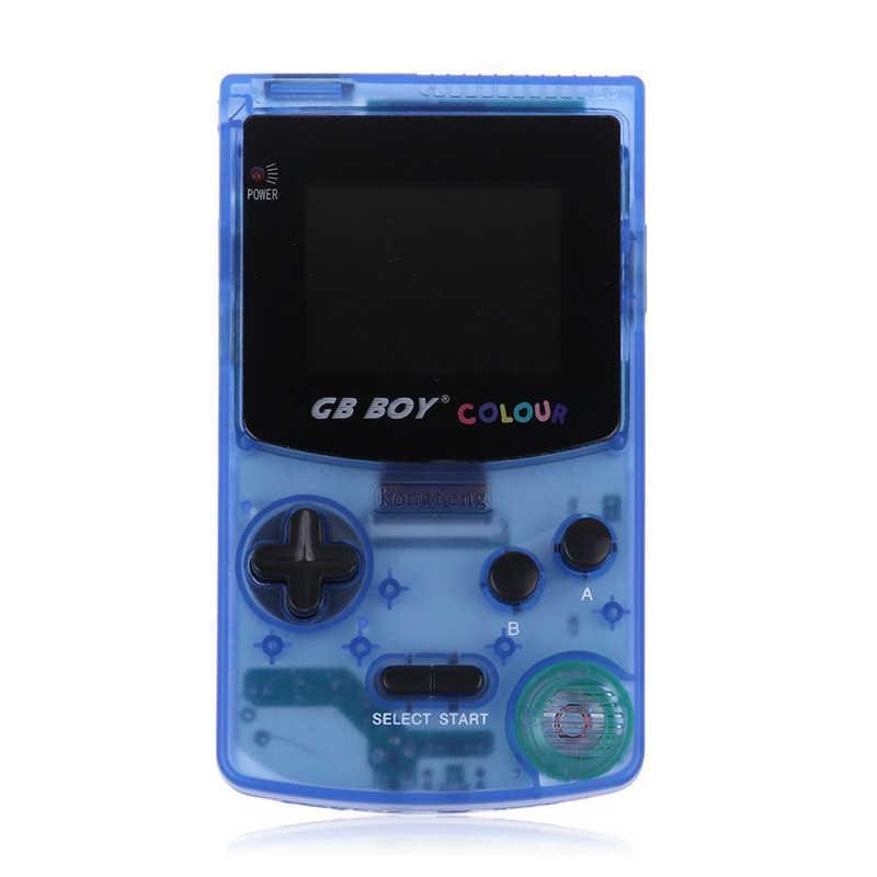 GB мальчик Цвет портативных игровых консолей игры с подсветкой 66 Встроенные игры 5 цветов GB мальчик Ручные игры