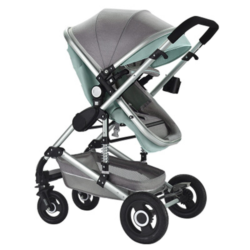 Free Shipping High Landscape Infant Baby Stroller Trolley Baby Carriage Infant Buggy 0 3 Years Prams