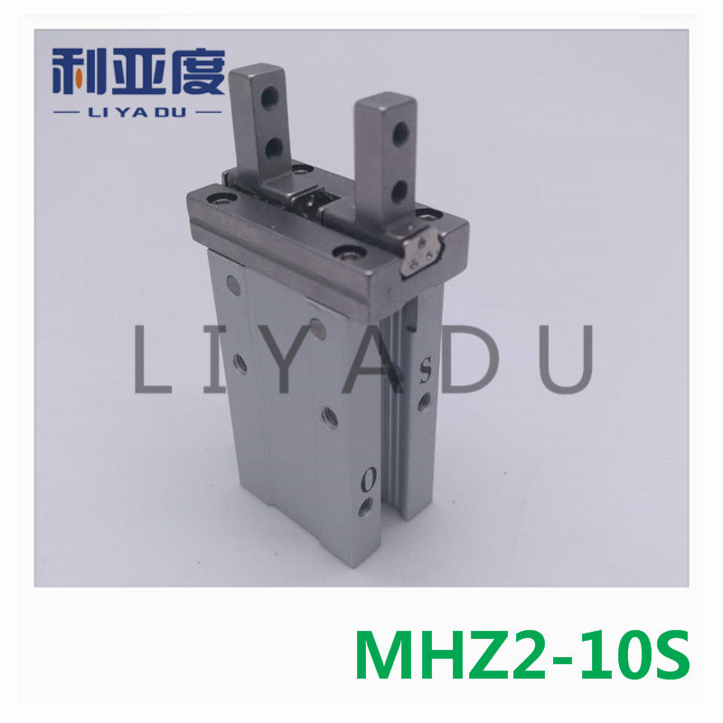 MHZ2-10S pneumatic SMC finger cylinder parallel open Single action (open) air claw mhz2 6s mhz2 6s1 mhz2 6s2 high quality pneumatic finger cylinder parallel open single action open air claw