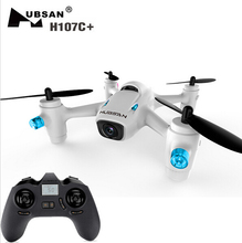 New Original Hubsan H107C+ 2.4GHz 4CH 6-axis Gyro RC Quadcopter RTF Mini Drone with 720P HD Camera
