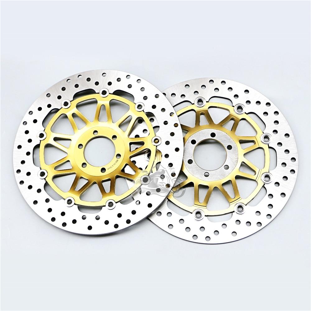 Плавающий передний тормоз Ротор диск для мотоцикла Honda CBR250R MC19 VT250 VTR250 Л Новый