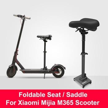 Asiento plegable Original para patinete Xiaomi M365, silla eléctrica, asiento de altura ajustable para patinete Xiaomi Mijia M365