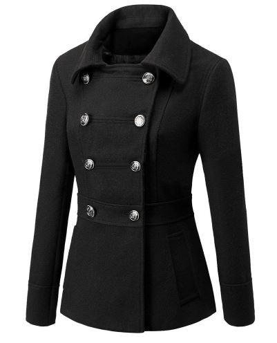 Popular Women Wool Red Coat-Buy Cheap Women Wool Red Coat lots ...