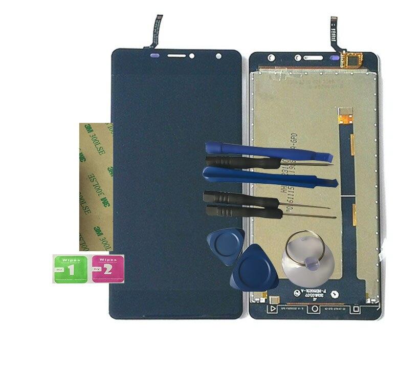 Nouveau Pour LEAGOO alfa2 Alfa 2 Écran lcd Avec Écran Tactile Digitizer Assemblée de Remplacement Avec Des Outils + 3 M Autocollant
