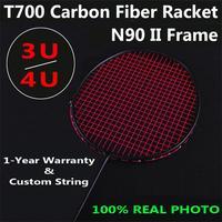 3U/4U 30lbs T700 In Fibra di Carbonio di Badminton Cinese di Formazione del Team Racchetta Da Badminton 5 colori
