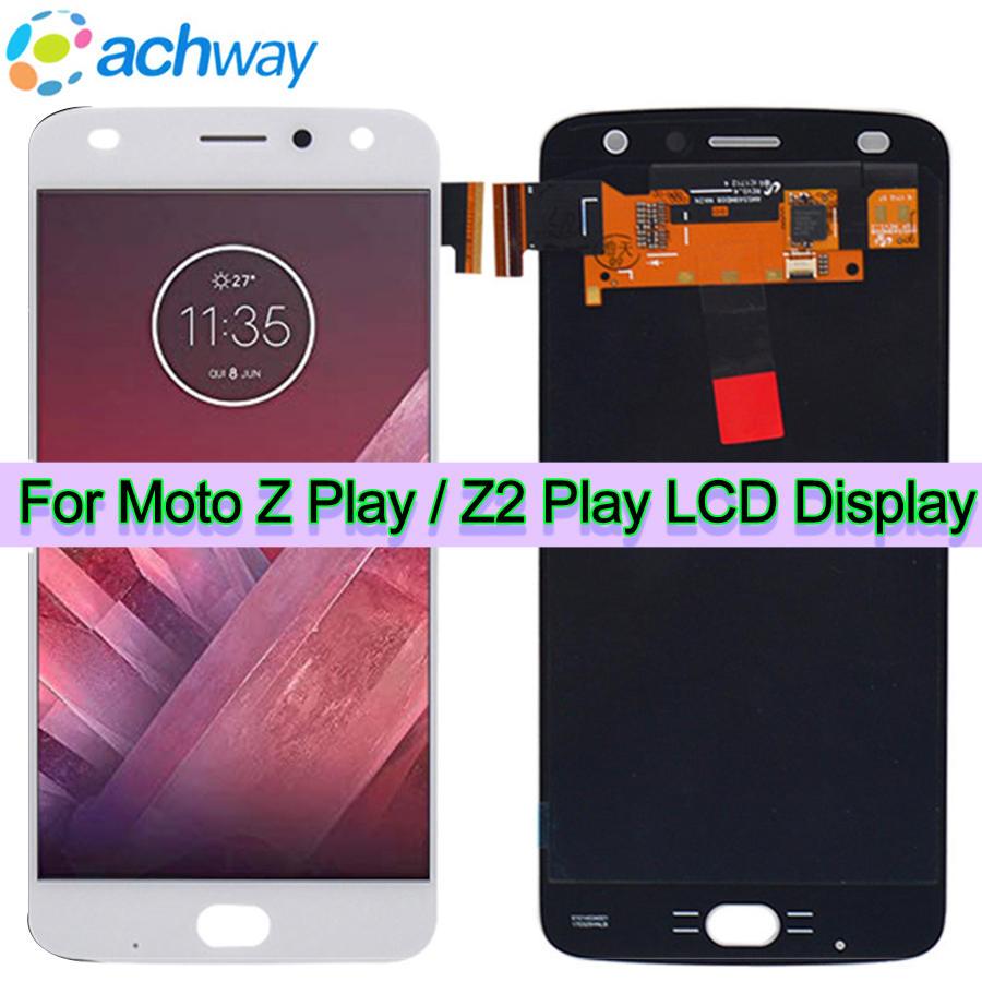 Original Z Play LCD Display Screen For Motorola Moto Z Play For Moto z2 Play Display
