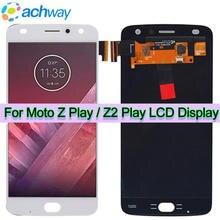 Mới Z Chơi Màn Hình LCD Hiển Thị Màn Hình Dành Cho Motorola Moto Z Cho Moto Z2 Play Hiển Thị Thêm Bộ Số Hóa Màn Hình Cảm Ứng XT1710 01/07/08/