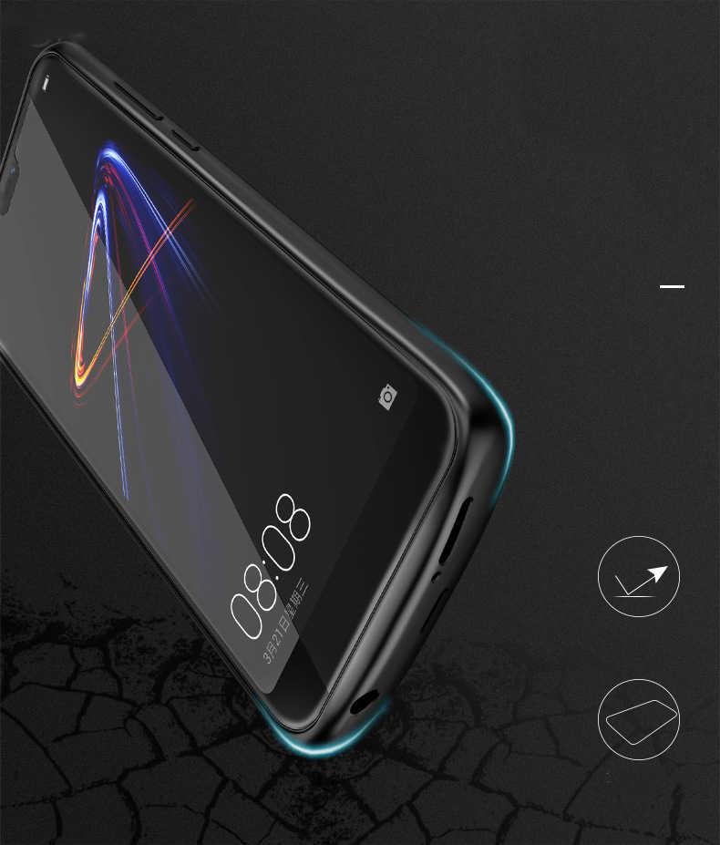 Силиконовый противоударный чехол для зарядного устройства для huawei P20 Lite Nova 3e Honor 10 8 9 чехол для Зарядки Задняя Крышка внешний блок питания