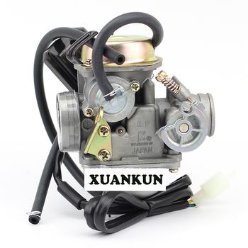 XUANKUN  GY6 Carburetor 125 150 ATV Scooter 24 Caliber Carburetor